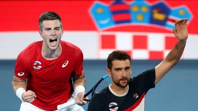 Marin dobio Novaka, a Borna Thiema za pobjedu Hrvatske