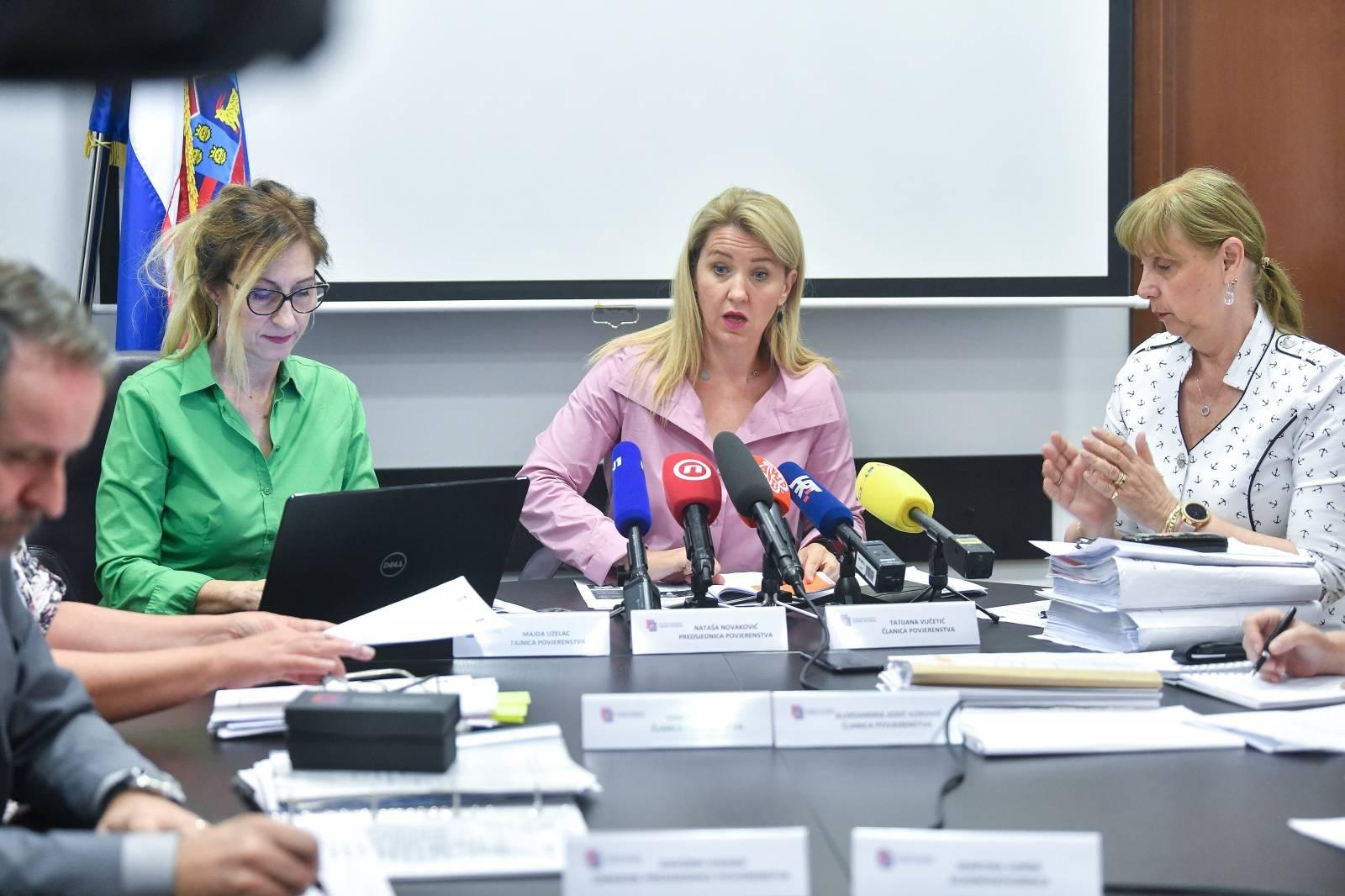 Zagreb: Sjednica Povjerenstva za odlučivanje o sukobu interesa raspravljala o Predsjednici RH
