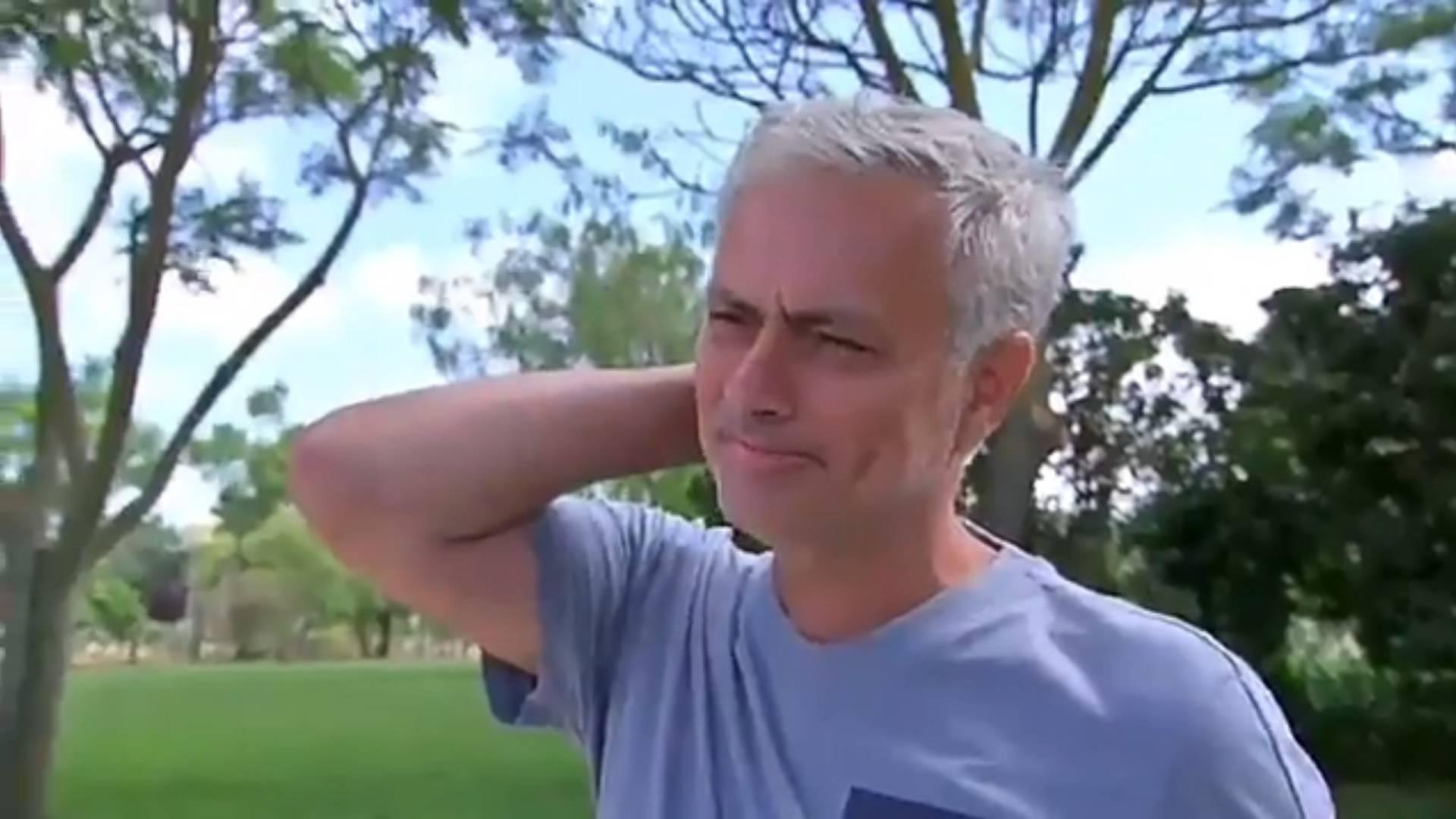 Jose Mourinho slomio se zbog pitanja: Uh, sve mi nedostaje...