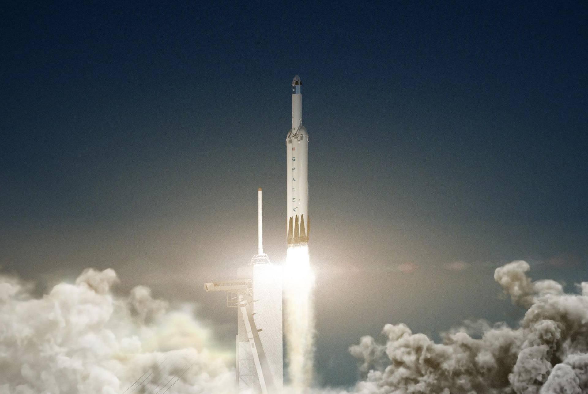 Najjača raketa na svijetu vozit će Teslinu jurilicu prema Marsu