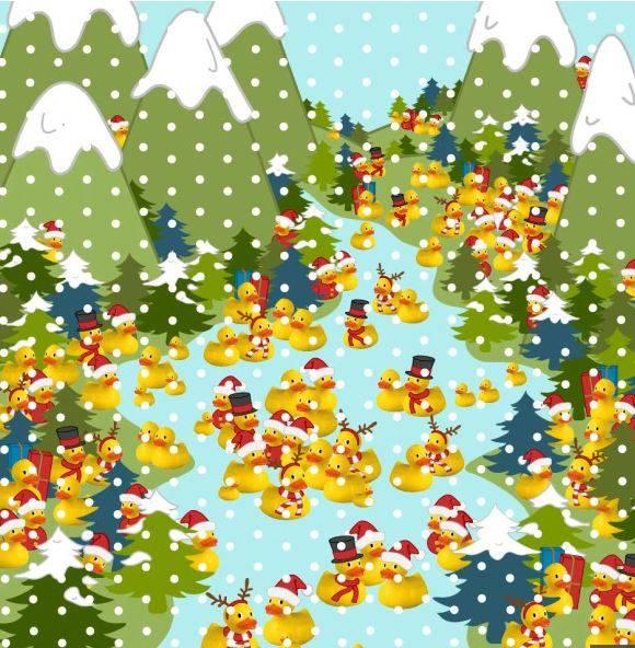 Rekord je 34 sekunde, možete li vi brže pronaći patka mraza?
