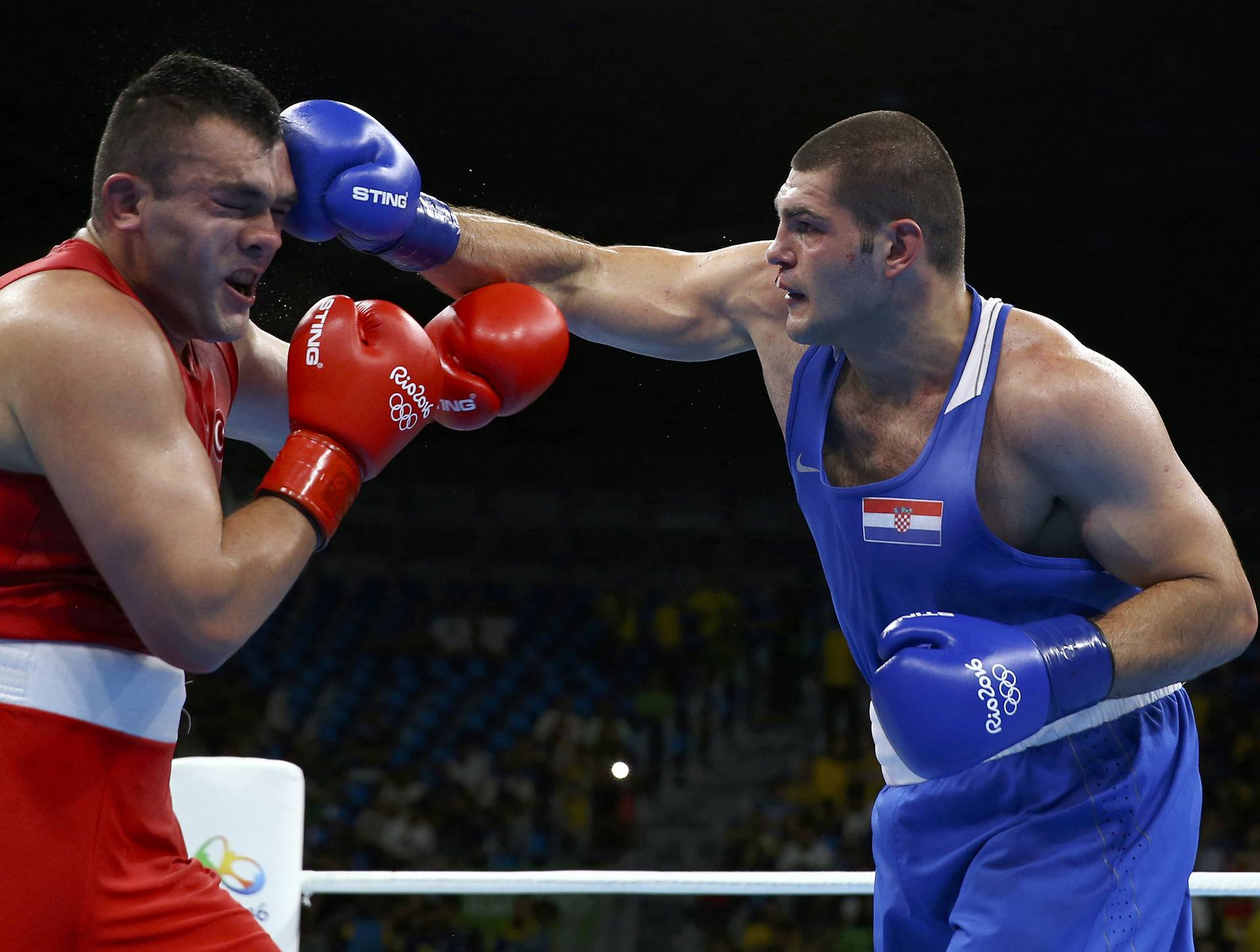 Boxing - Men's Super Heavy (+91kg) Round of 16 Bout 162