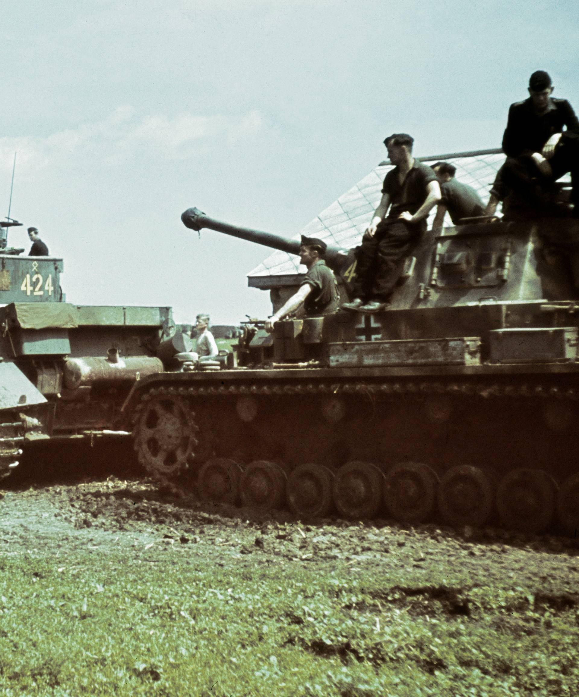 Panzereinheit, um 1941
