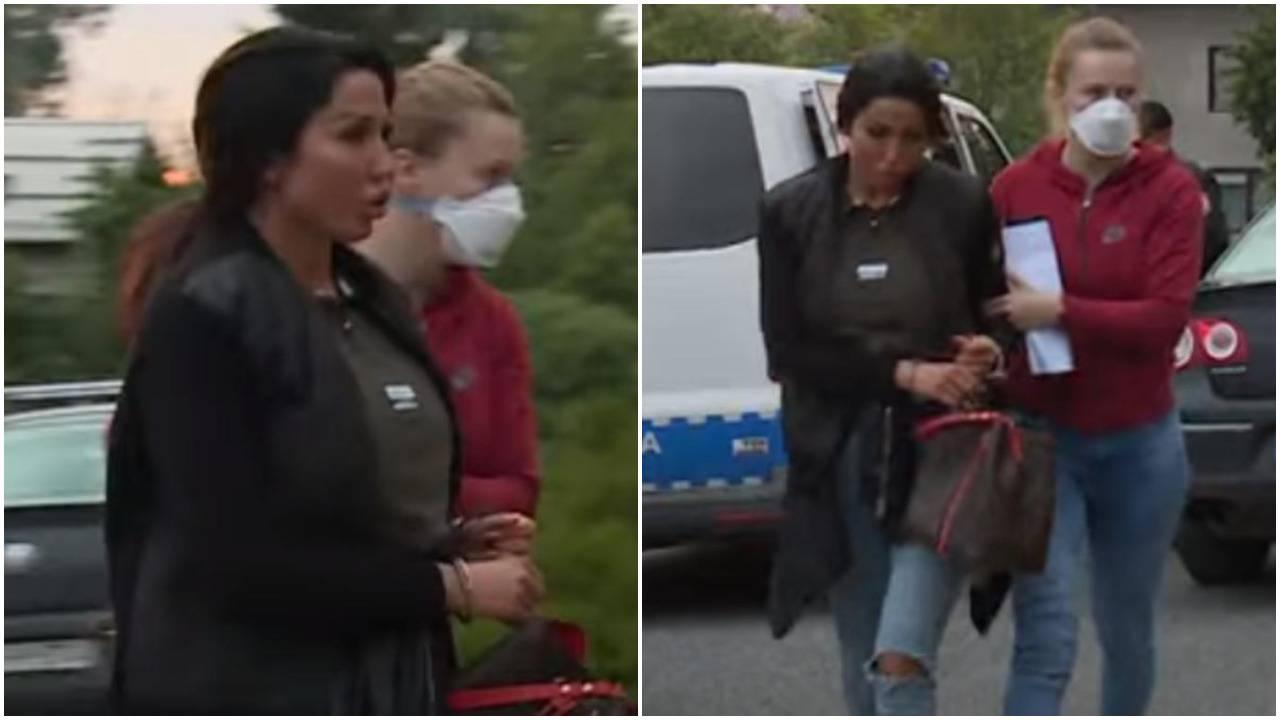 'Procurila' snimka uhićenja: U lisicama Tijana stigla u postaju