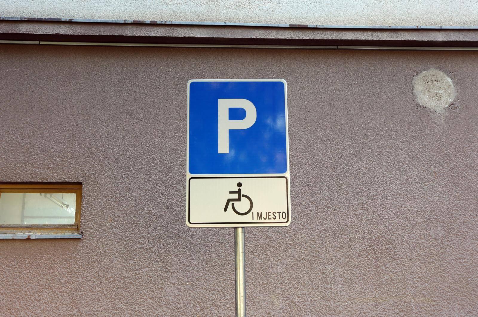 Kontrola u Karlovcu: Policija će provjeriti naljepnice za invalide