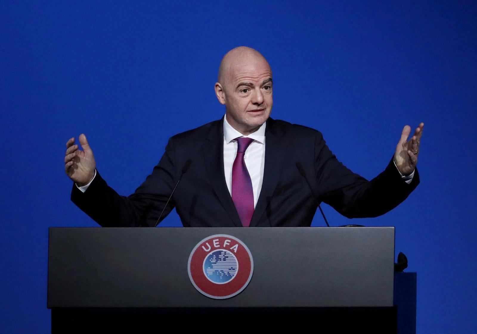 FILE PHOTO: FILE PHOTO: UEFA Congress