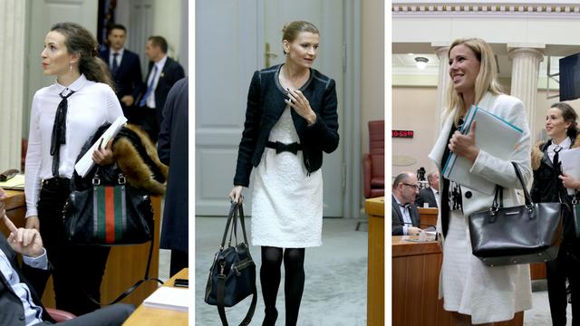 Crno-bijeli svijet: Evo što su zastupnice odjenule za Sabor