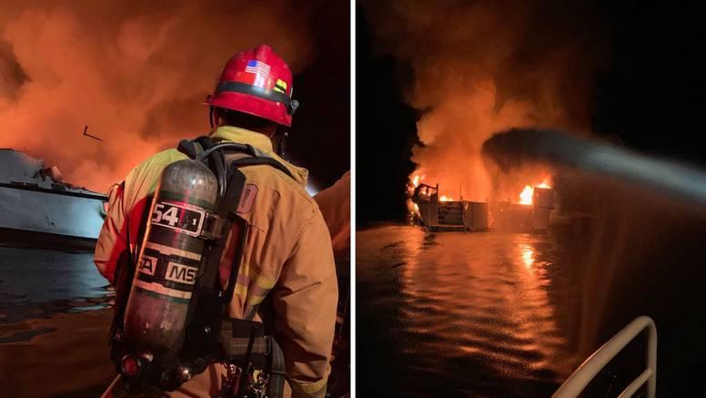 Ni jedan putnik nije preživio požar na kalifornijskom brodu