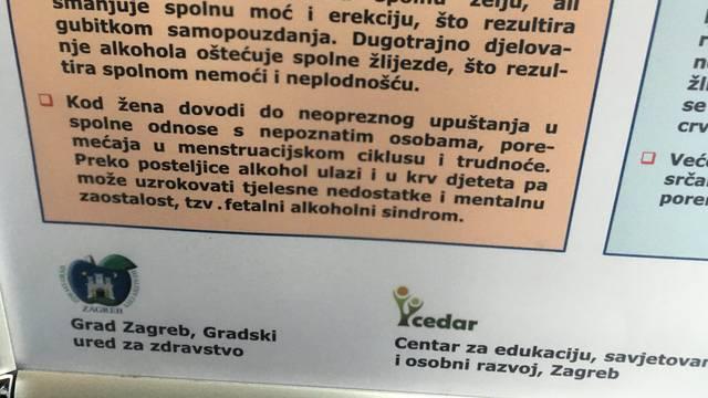 'Plakat nije seksistički, ali mi ćemo ga maknuti iz tramvaja'