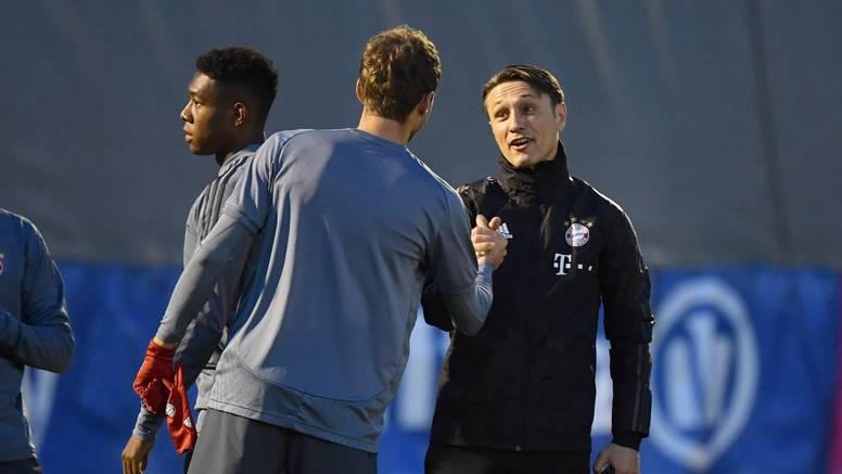 Stisnuli mu ruku: Niko posjetio trening i oprostio se od igrača