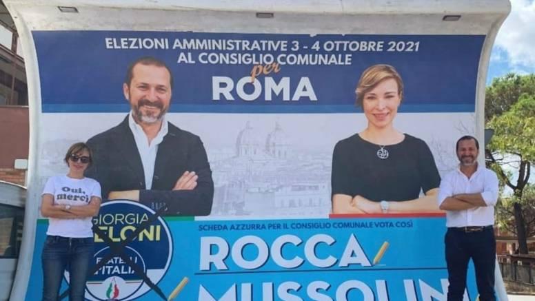 Na lokalnim izborima u Rimu uvjerljivo najviše glasova dobila - Mussolinijeva unuka