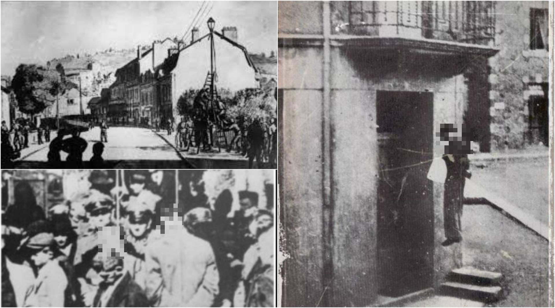 SS-ovci su iz osvete objesili 99 muškaraca od 16 do 60 godina na balkone i uličnu rasvjetu...