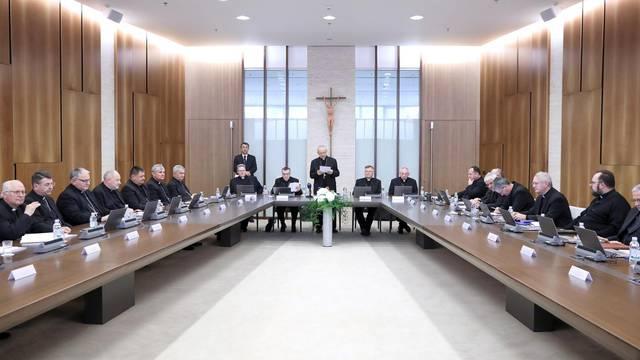 Zagreb: Počelo 58. redovito plenarno zasjedanje Sabora Hrvatske biskupske konferencije