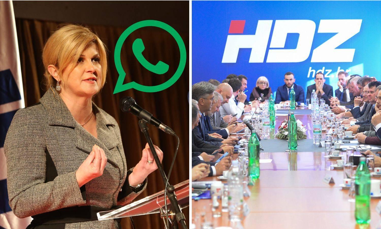 WhatsApp mobilizacija: HDZ je opet u akciji 'Uskoci i hajduci'