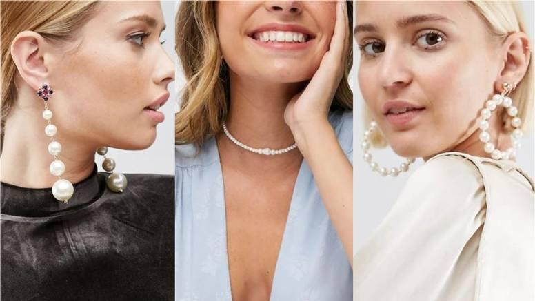 Retro look: nakit u znaku bijelih bisera i diskretne elegancije