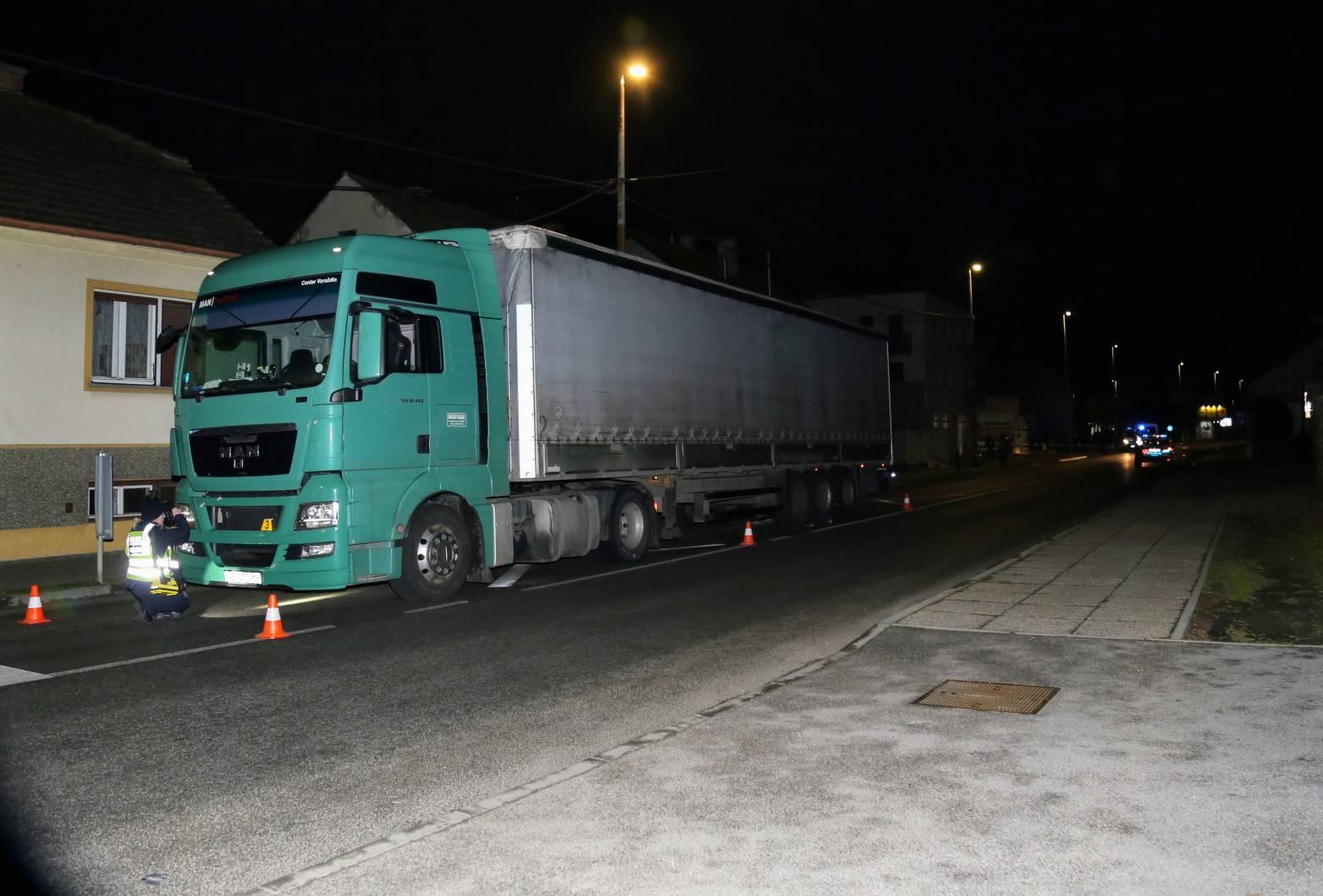 Kamion pregazio muškarca koji je ležao na kolniku u Čakovcu