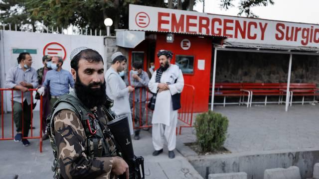 Members of Taliban forces in Kabul