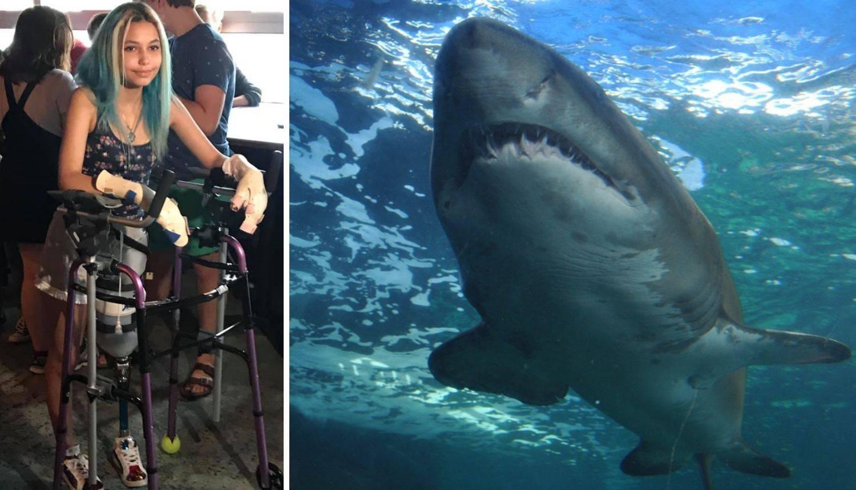 Morski pas odgrizao joj nogu: 'Tata ga je istukao i spasio me'