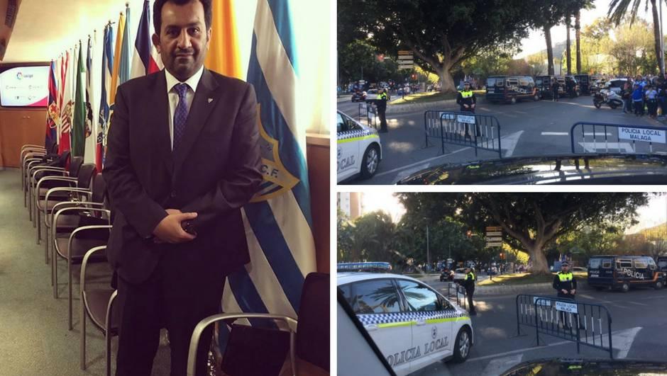 Vlasnik Malage poludio: Policija me nije pustila na moj stadion