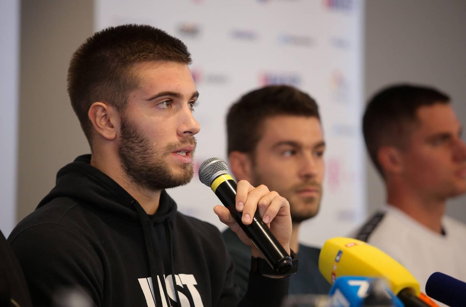 Zagreb: Konferencija za novinare Hrvatskog teniskog saveza