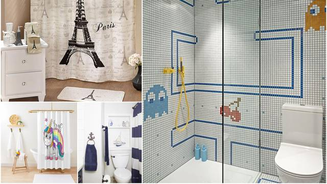 Tematska kupaonica: Sve je slađe uz psiće, crtiće ili gradove