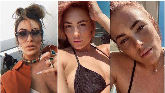 Senidah je neprepoznatljiva: S lica maknula 'tešku' šminku pa je fanovima pokazala pjegice