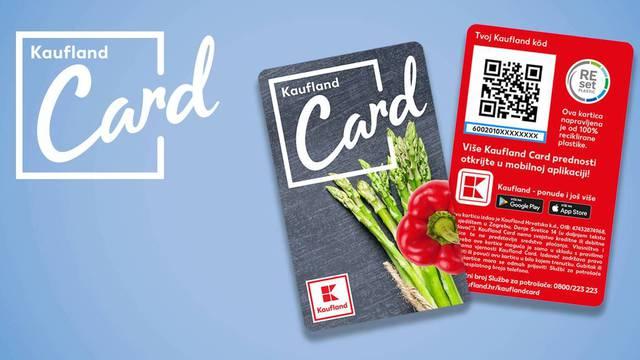 Kaufland Card od 100% reciklirane plastike