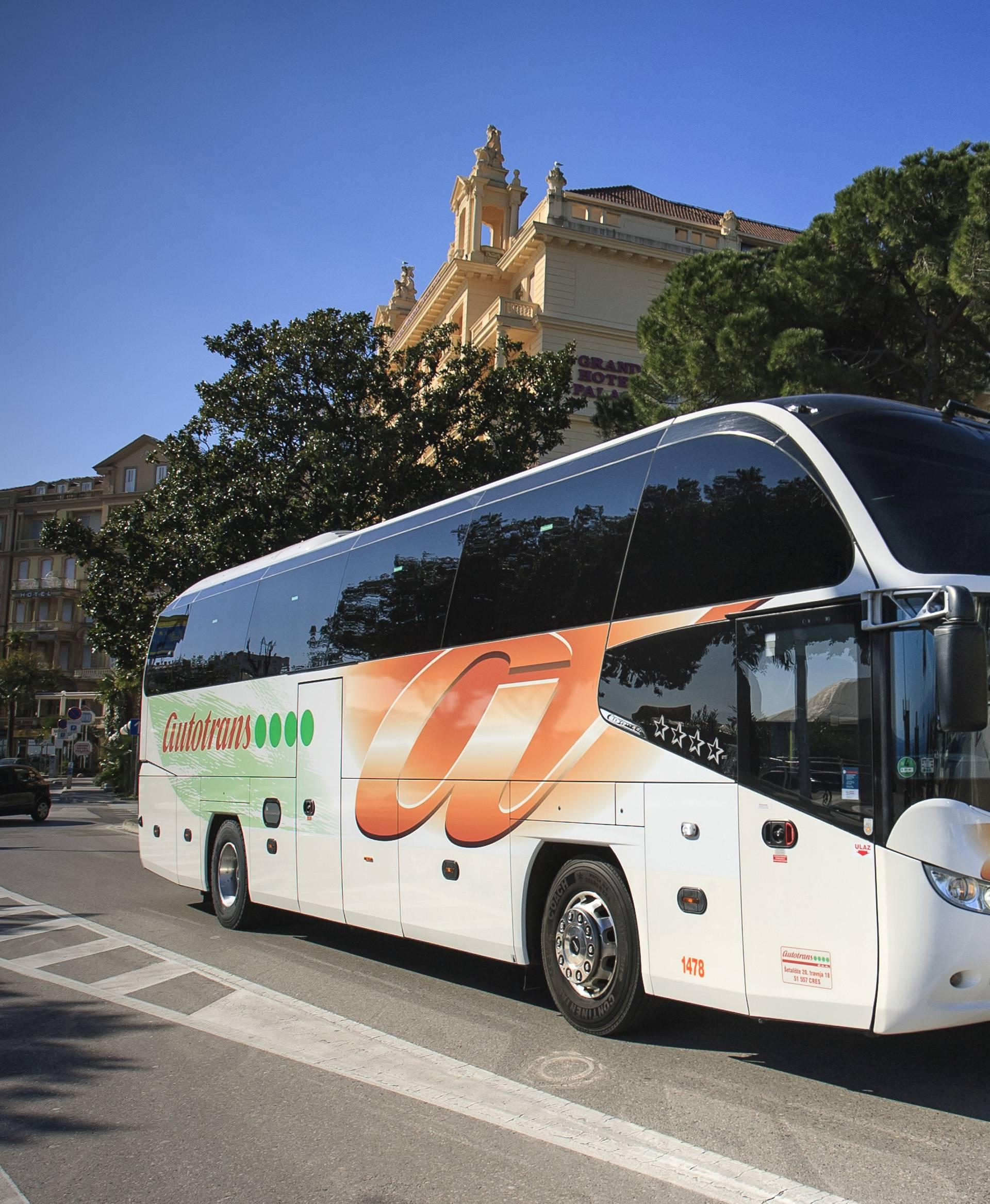 Autotransov autobus u Opatiji