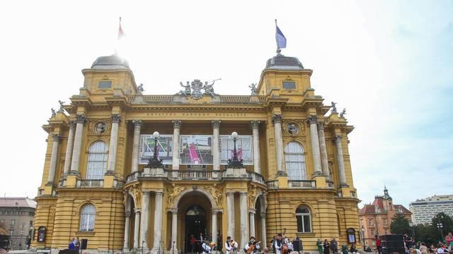 Zagreb: Dan otvorenog trga u organizaciji Hrvatskog narodnog kazališta