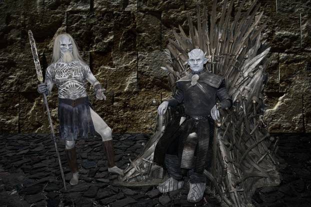 aftertkonig and Weisser Wanderer / Night King and White Walker