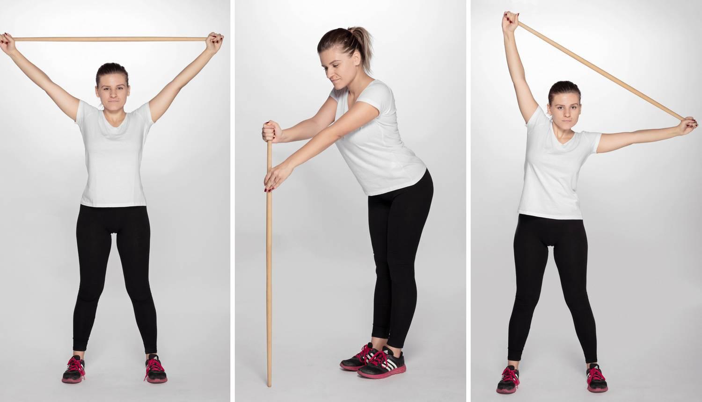 Top 6 vježbi sa štapom koje će ojačati leđa i popraviti držanje