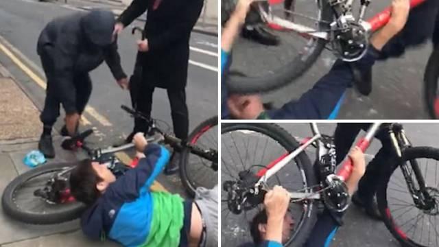 Drama na cesti: Lopov mu htio ukrasti bicikl, tukao ga po glavi