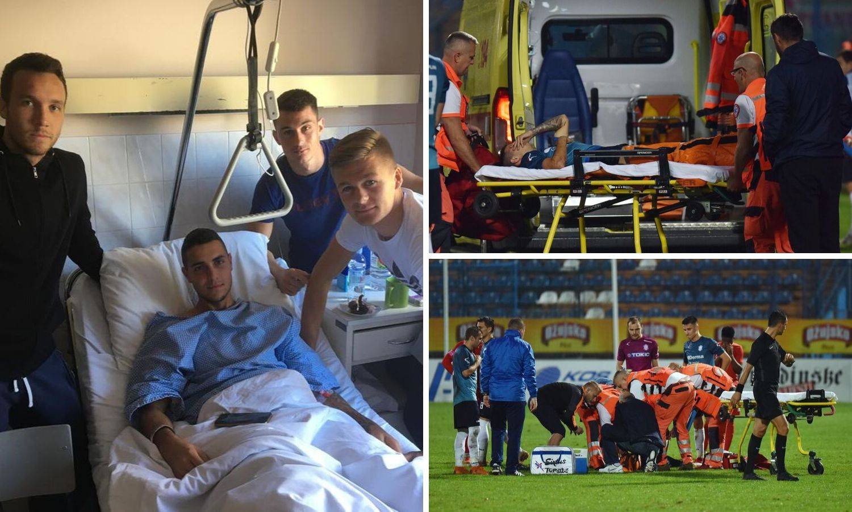 'Opet sam slomio istu nogu, ali vratit ću se na teren još jači...'