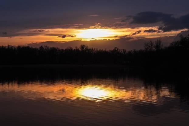 Zagreb: Subotnje popodne na jezeru Jarun