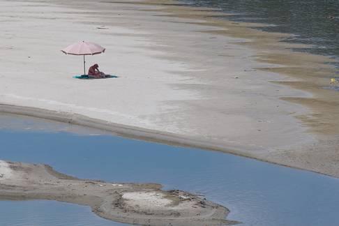 Odijek: Pješčani otoci i plaže na rijeci Dravi