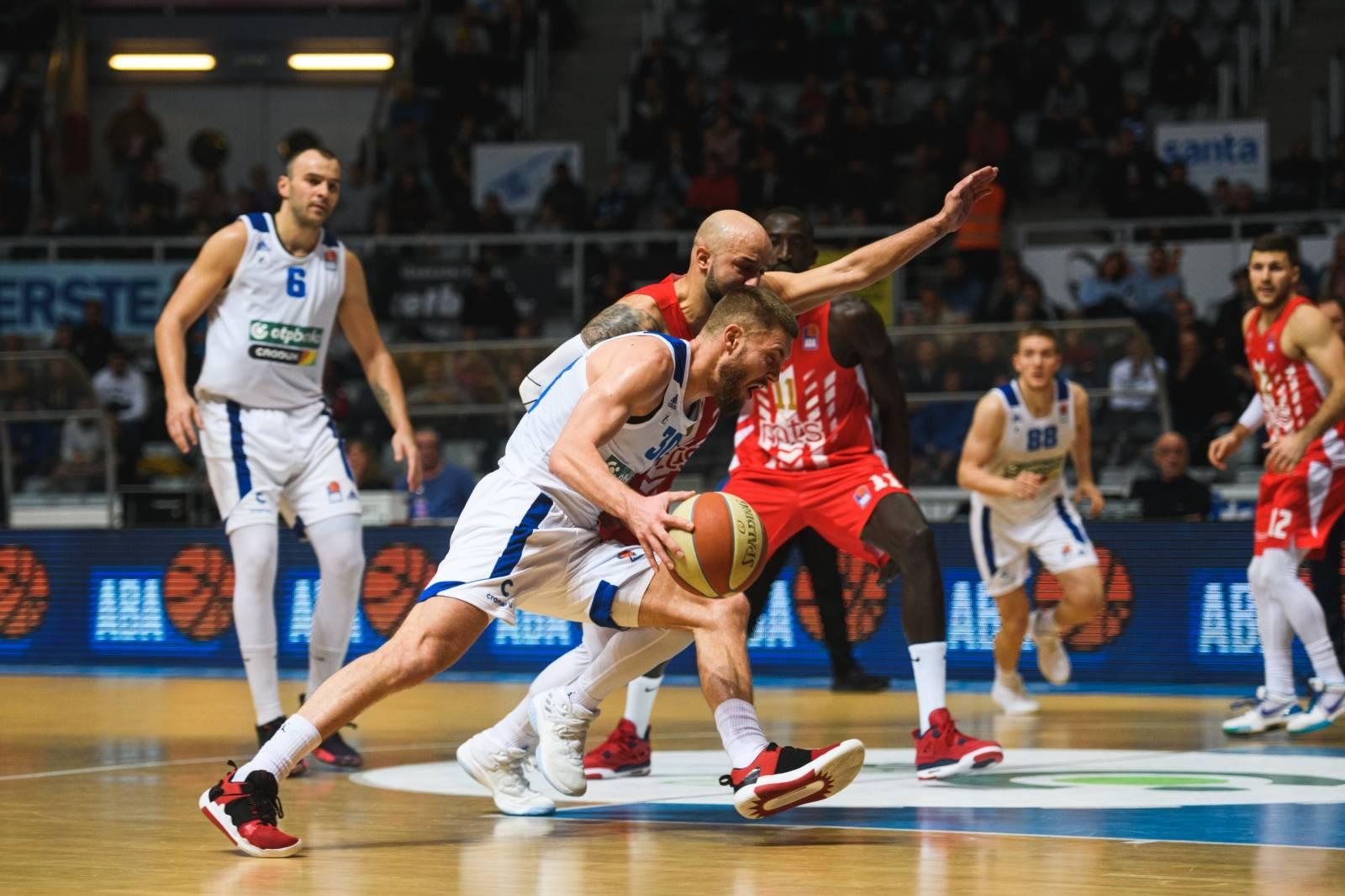 Zadar: KK Zadar i Crvena Zvezda u 11. kolu ABA lige