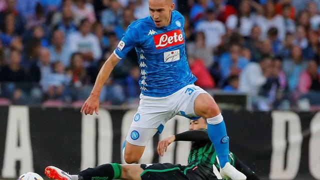 Serie A - Napoli v U.S Sassuolo
