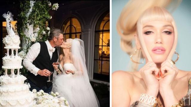Gwen Stefani podijelila prve fotografije raskošnog vjenčanja
