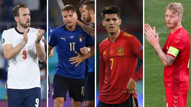 Poznati su svi polufinalisti Eura: Evo tko igra s kim, gdje i kada