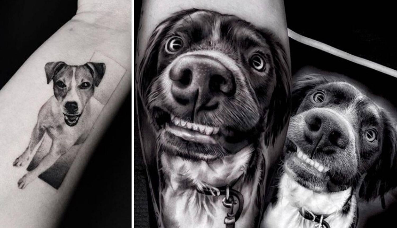 Mrak tetovaže: Dlakavi ljubimci ucrtani na tijela svojih vlasnika