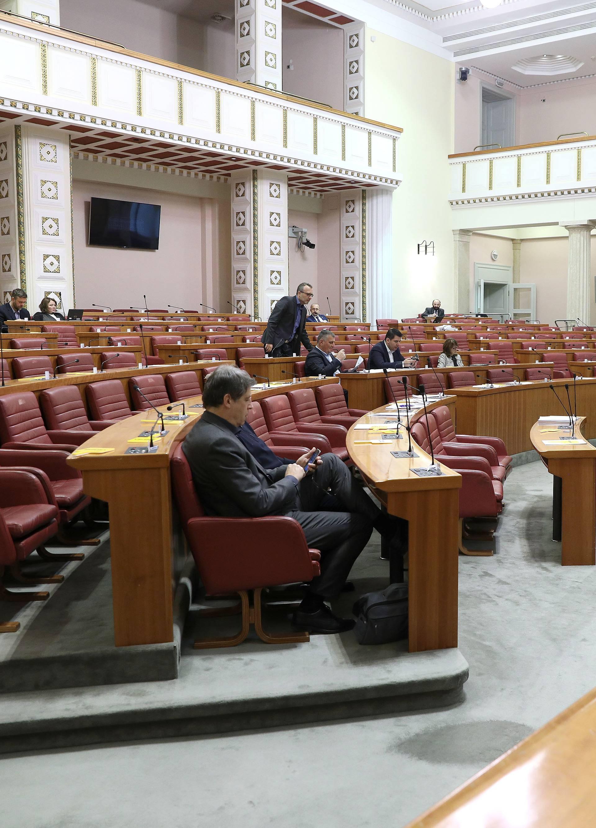 Sabor zasjeda zadnji put prije stanke, rasprava o Vukovaru