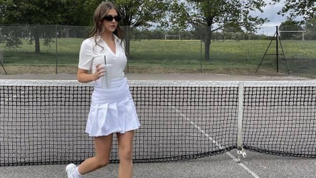 Teniski chic za sunčane dane