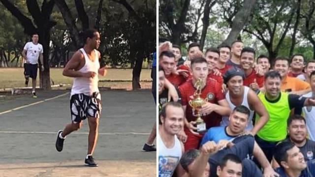 Ronaldinho osvojio zatvorski turnir, za nagradu dobio odojak