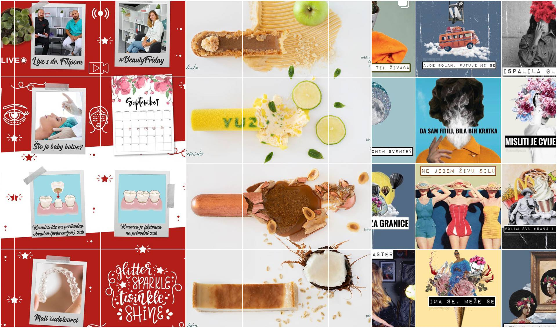 Instagram profili na koje smo se 'zakačili' jer su drugačiji