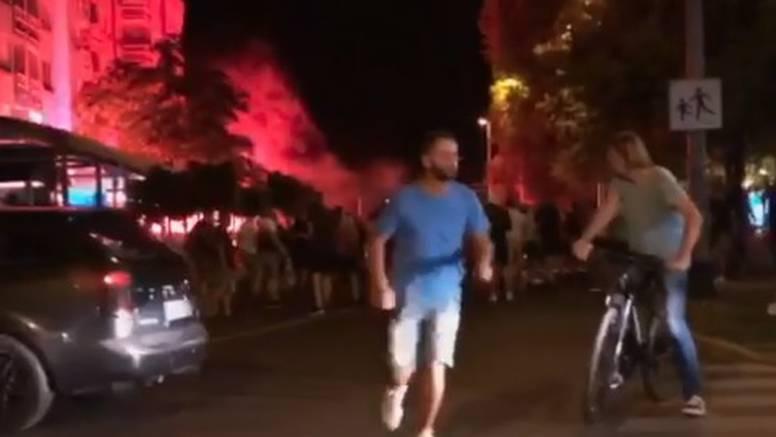 VIDEO U Dubravi sinoć bio rat