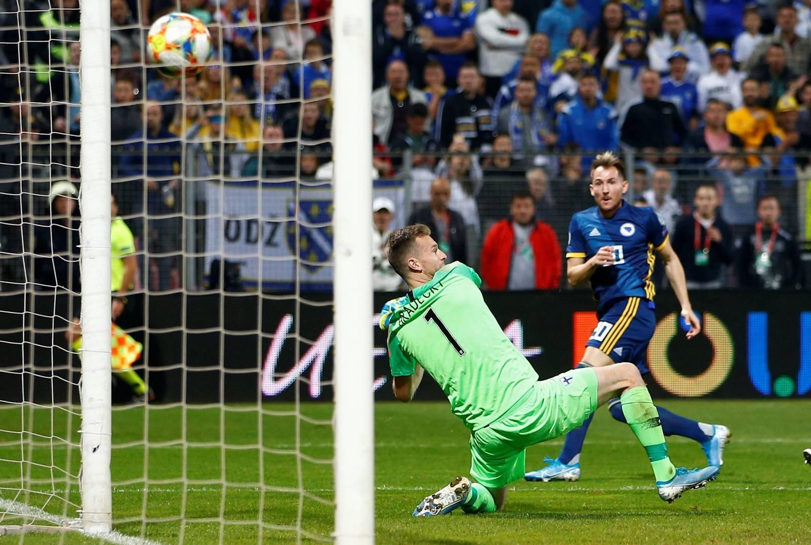 Euro 2020 Qualifier - Group J - Bosnia and Herzegovina v Finland