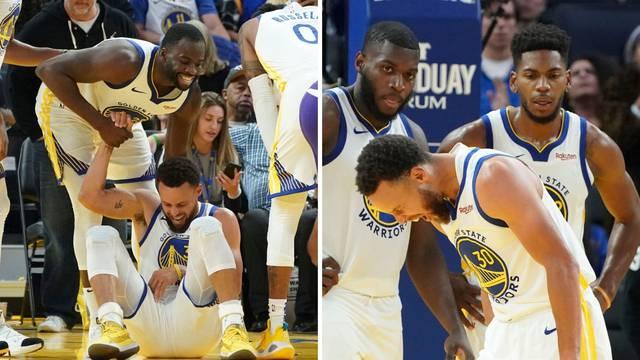 Gadna ozljeda: Curry je slomio ruku, protivnik mu je zdrobio!