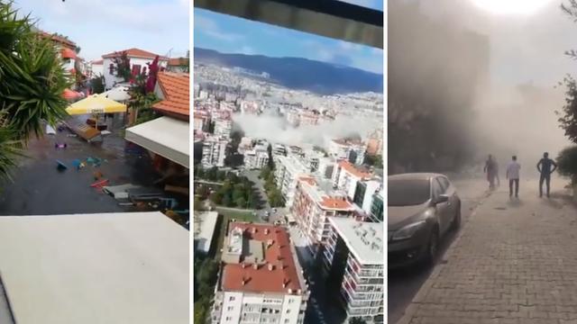 Snažan potres pogodio Grčku i Tursku: Urušile su se zgrade, četvero mrtvih, 120 ozlijeđenih