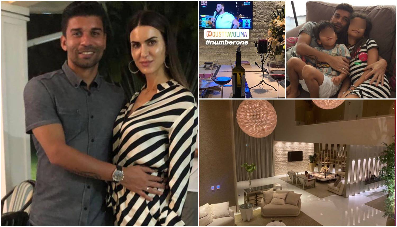 Da Silva u izolaciji sa ženom: Pokazali luksuz u kojem žive
