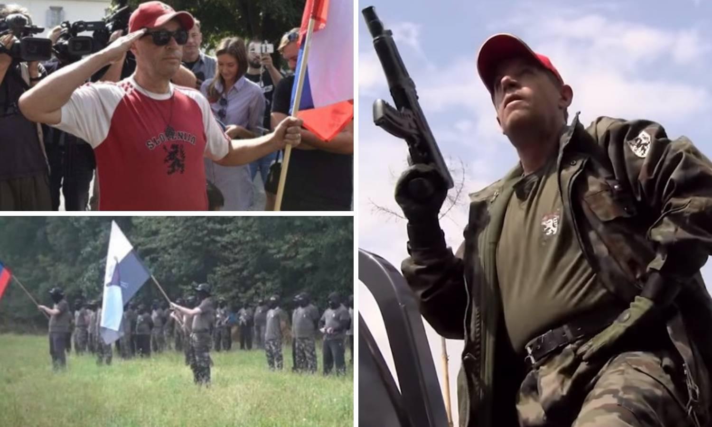 Video: Jorasov frend s oružjem u rukama urla i zove na izbore
